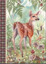 Illustrated little notebook Gwenaëlle Trolez Créations - Forêt