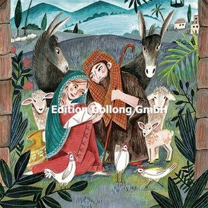 Cartita Design Postcard Christmas | nativity scene