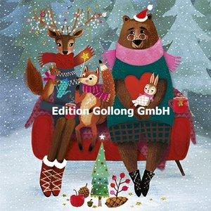 Mila Marquis Postcard Christmas | Christmas Animals