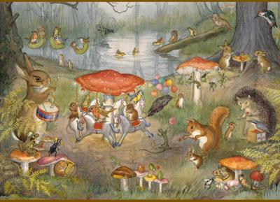 Postcard Molly Brett | All the Fun of the Fair