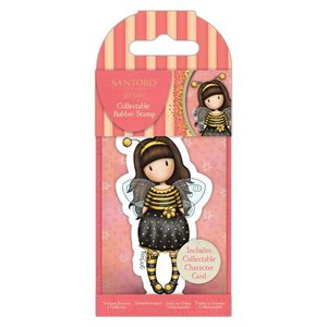 Gorjuss Collectable Rubber Stamp - Santoro - No.66 Bee-Loved