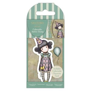 Gorjuss Collectable Rubber Stamp - Santoro - No.69 Pierrot