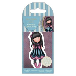 Gorjuss Collectable Rubber Stamp - Santoro - No.75 The Frock