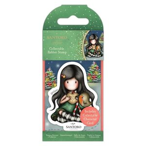 Gorjuss Collectable Rubber Stamp - Santoro - No.81 Christmas Friend