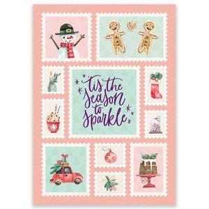 Postcard LittleLeftyLou | Christmas Season To Sparkle