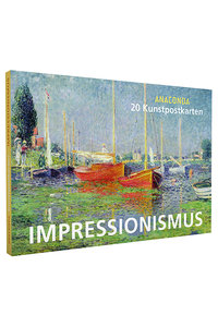 Anaconda Art Postcard Book | Impressionismus