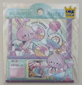 Crux Sticker Flakes Sack | Playful Sweet
