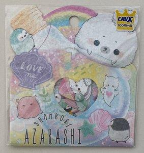 Crux Sticker Flakes Sack   Shombori Azarashi
