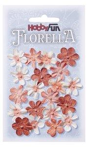 Florella Paper Flowers Blüten pfirsich, 2cm