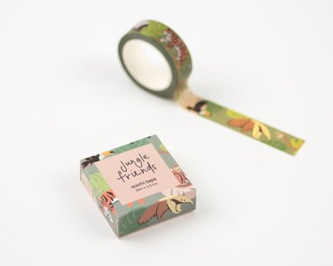 Jungle Animals Washi Tape by Mila Made
