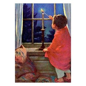 Postcard | Night Candle