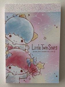 Sanrio Mini Memo Pad Sanrio | Little Twin Stars