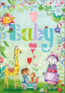 Mila Marquis Double Card | Baby (Animals)