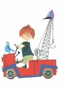 Fiep Westendorp Postcards   Pluk van de Petteflet - Pluk in brandweerauto