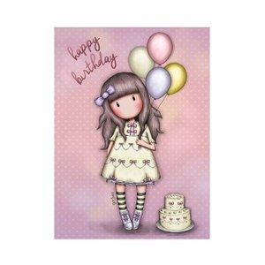 Santoro Gorjuss Greeting Card - Happy Birthday (I Wish...)