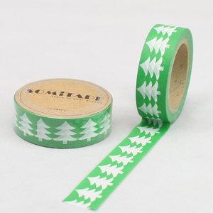 Somitape Washi Tape | Christmas Tree Green