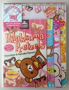 San-X Rilakkuma Letter Set - Rilakkuma Market