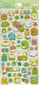 San-X Sumikkogurashi Puffy Epoxy Stickers | Things in the corner