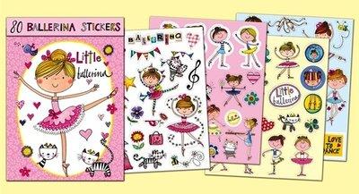 Rachel Ellen Designs Sticker Book   Ballerina