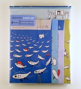 San-X Shirasutai letter set | We're not cat food