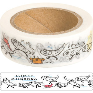San-X Shirasutai Washi Deco Tape