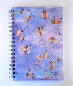 San-X Sentimental Circus Ring Binder Notebook | Starlight Spica
