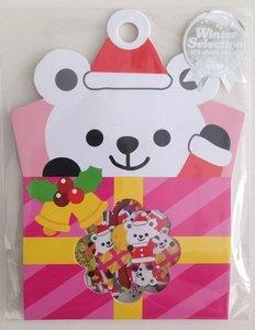 Sticker Flakes Sack Mindwave Winter Selection | Polar Bear