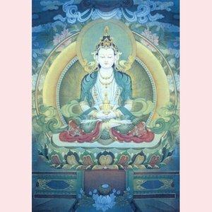 Postcard Pieter Weltevrede   Amithaba Buddha I