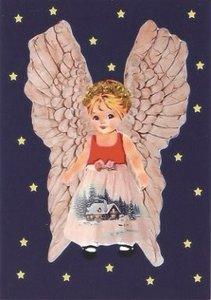 Postcard Caatje   Christmas Angel