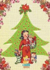 Postcard Caatje | Christmas Tree