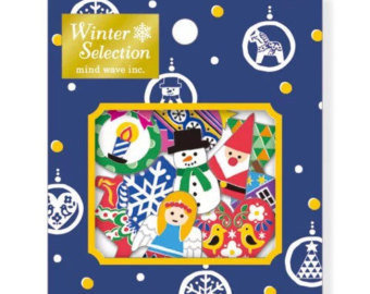 Sticker Flakes Sack Mindwave Winter Selection | Christmas
