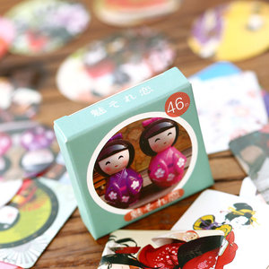 Sticker Flakes Box | Russian Doll Matryoskha