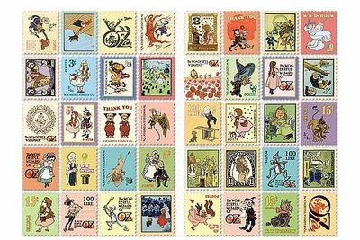 Stamp Sticker Set | Wizard of Oz