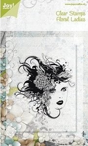 Joy!Crafts Clear Stamps | Floral Ladies