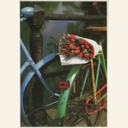 Art Unlimited Postcard   Tulpen uit Amsterdam