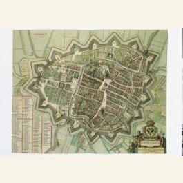 Postcard | Kaart van Groningen