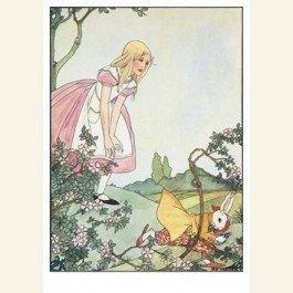 Art Unlimited Postcard | Alice's avonturen in Wonderland