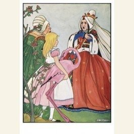 Art Unlimited Postcard | Alice's avonturen in Wonderland