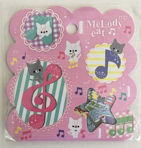 Sticker Flakes Sack Q-Lia | Melody Cat