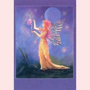 Postcard Fantasy Judy Mastrangelo   Dew drop fairy