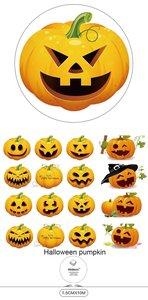 Washi Masking Tape | Halloween Pumpkin