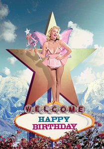 Welcome Fairy Happy Birthday Individual Postcard by Max Hernn