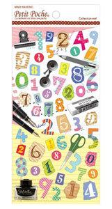 Mindwave Petit Poche Alphabet Seal Sticker | Collection Seal