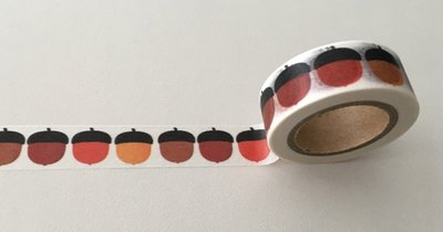 Autumn Washi Masking Tape | Acorns