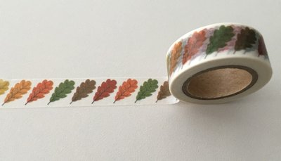 Autumn Washi Masking Tape | Autumn Leaves Single