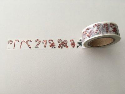 Christmas Washi Masking Tape | Candy Canes