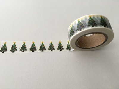 Christmas Washi Masking Tape | Christmas Trees