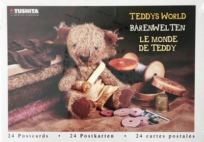 Tushita Postcard Book | Teddys World