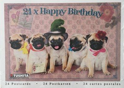 Tushita Postcard Book   Happy Birthday