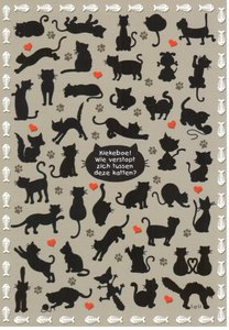 Lali Postcard   Zoekopdracht Katten